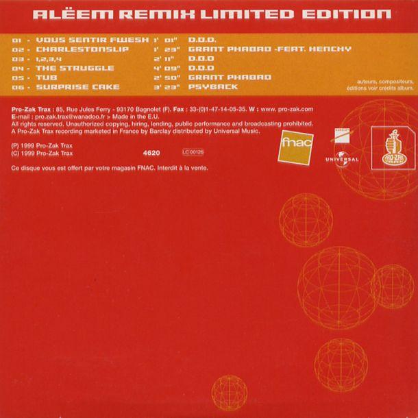 aleem remix limited edition