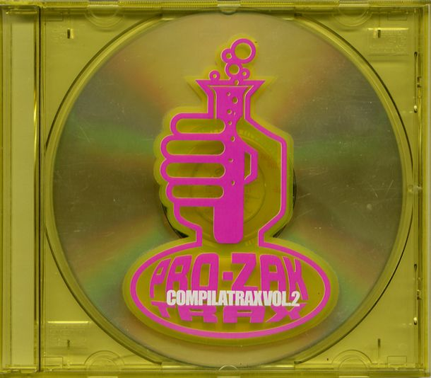 compilatrax vol.2 unreleased trax mixed cd
