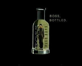 hugo boss bottled.